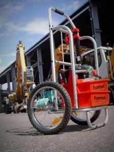 Chariot manutention tout terrain